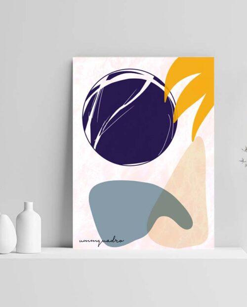 Quadro Abstract Lua 11